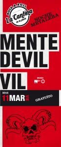 Mente Devil + Vil - La Cantina de la Plaza
